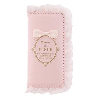 ブランドロゴフリルiPhone7/8ケース/ メゾン フルール ド 【sweet4月号掲載】 (Maison de FLEUR)
