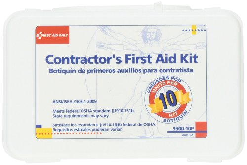 First Aid Only Contractors Plastic