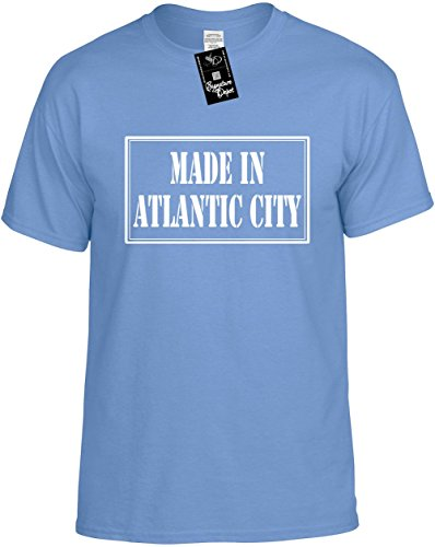 Kids Funny T-Shirt Size M (MADE IN ATLANTIC CITY) Youth Tee - Atlantic City Kids In