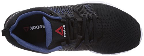 Reebok ZQuick Dash - zapatillas de running de material sintético unisex negro - Schwarz (Black/Batik Blue/Solar Yellow/White)