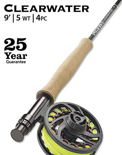 Orvis 2019 Clearwater 909-4 Fly Rod Outfit : 9'0