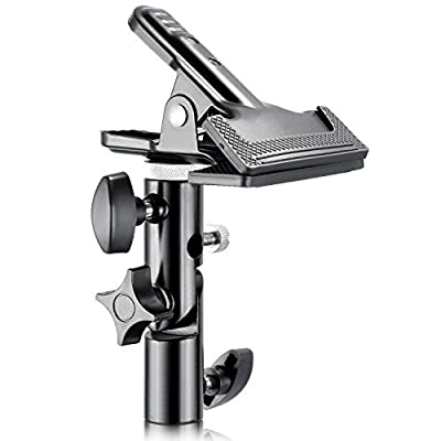 """Neewer® Photo Studio Heavy Duty Metal Clamp Holder with 5/8"""" Light Stand Attachment for Reflector from Neewer"""