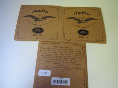 3 sets of Aquila Tenor Ukulele strings code 10U