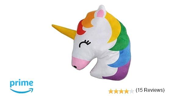 Cojín decorativo de peluche Unicornio - Rainbow/Arcoiris ...