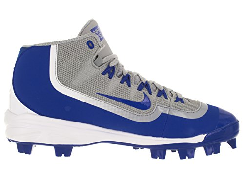 Nike Huarache 2kfilth Hombres Pro Baseball Cleat Wolf Gris / Blanco / Game Royal
