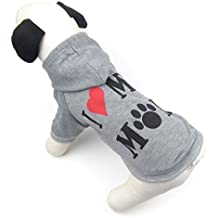 Alfie Pet by Petoga Couture - Bonanza Hoodie Mommy - Color: Grey, Size: Large