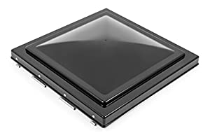 Camco 40175 Replacement Vent Lid (Jensen (pre 1994) Black Unbreakable Polycarbonate)