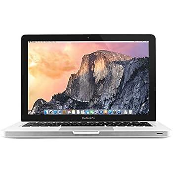 Apple MacBook Pro MD313LL/A 13.3-Inch Laptop Intel i5 2.4GHz 4GB Ram - 500GB HDD (Renewed)