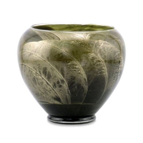 Northern Lights Candles Esque Polished Vase - 6 inch Olive ()