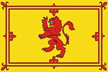 Scottish Lion Rampant Sticker