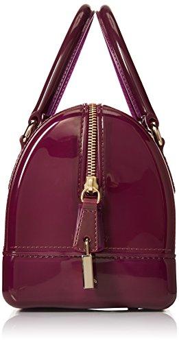 Furla Candy Mini Satchel 776674 Damen Henkeltaschen 22x15x12 cm (B x H x T) Violett (Aubergine) GHFZ1GPrax