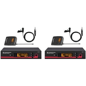 sennheiser combo kit 2 ew wireless lavalier mic systems from sennheiser ew112 g3 a. Black Bedroom Furniture Sets. Home Design Ideas