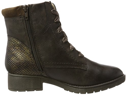 Women''s 25261 mocca Boots Softline Combat Brown 304 F7xwwO