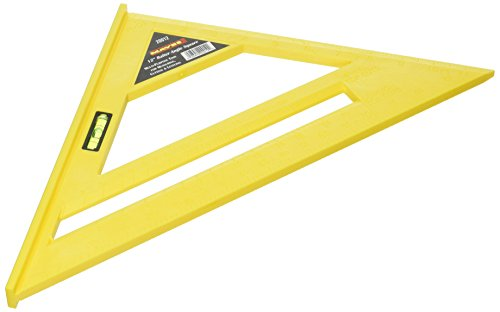 Great Neck Saw 20012 Poly Rafter Angle Square, 12-Inch