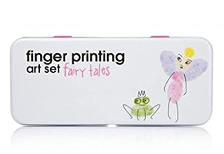 NPW Finger Printing Art Set, Fairy Tale