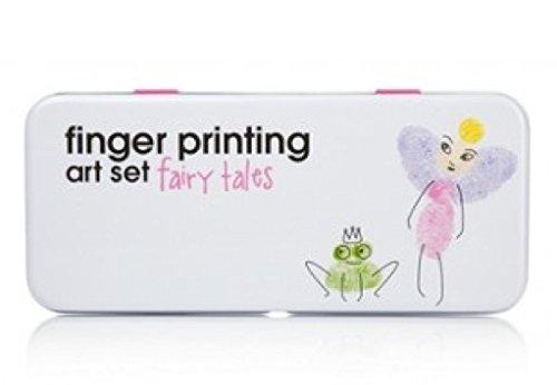 NPW Finger Printing Art Set, Fairy Tale