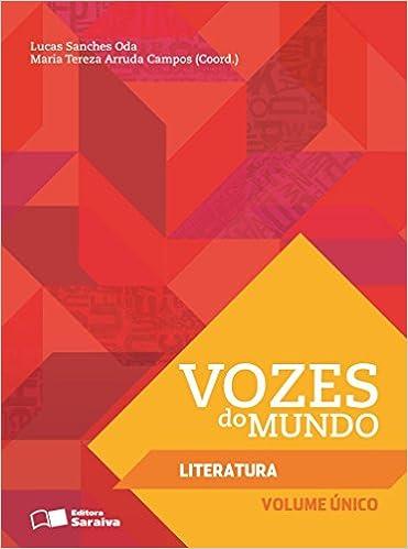 Book Vozes do Mundo. Literatura
