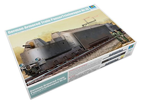 Trumpeter 1/35 00223 German Armored Train PanzerTriebwagen Nr.16