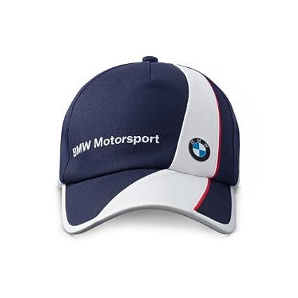 BMW - Gorra para hombre, diseño de BMW azul azul Talla:talla única