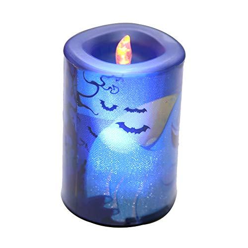 Halloween Decor,Rope Lights,Halloween Candle LED Light Home Garden Light Party Decor Light,Blue -
