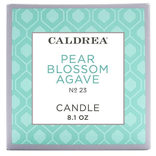 Caldrea Pear Blossom Agave Scented Candle 8.1 - Candle Caldrea