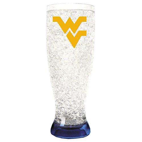 NCAA West Virginia Mountaineers 16oz Crystal Freezer Pilsner