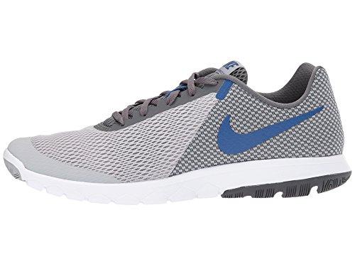 Nike Mænds Flex Erfaring Rn 6 Løbesko Ulv Grå / Motionsrum Blå-mørkegrå-hvid NnJyQfU4