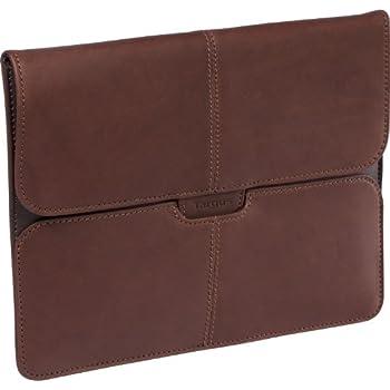 Targus Hughes Leather Portfolio for Apple iPad, iPad 2, iPad 3 and iPad 4th Generation TES00701US (Brown)