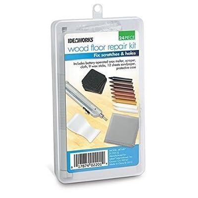 Ideaworks 24pc Wood Floor Repair Kit
