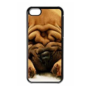 Protection Cover Hard Case Of Cute Dog Cell phone Case For Iphone 5C