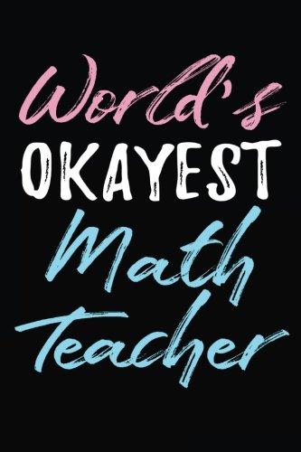 World's Okayest Math Teacher: Teacher Journal