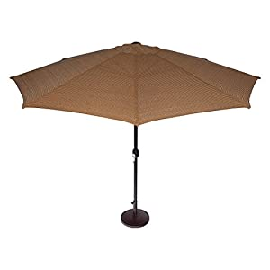Coolaroo Market Umbrella 11 Feet Mocha