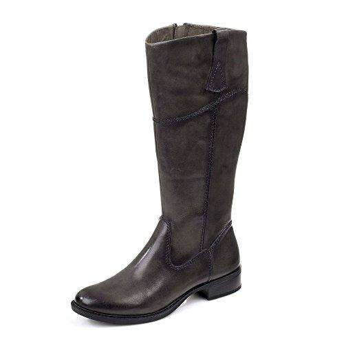 Gran tamaño: Mujer, botas, en 3de caña, Tamaris Grau Used