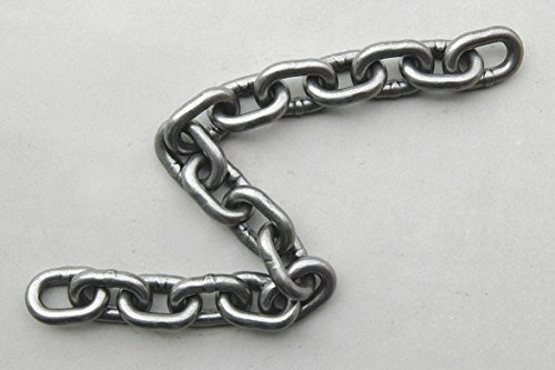 60 ft. Grade 43 Straight Chain, 3/8'' Trade Size, 5400 lb. Working Load Limit, For Lifting: No by Dayton