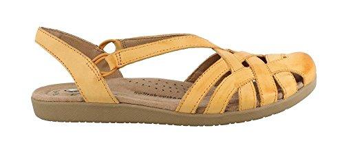 (Earth Origins Women's, Nellie Low Heel Sandals Yellow 9 N)