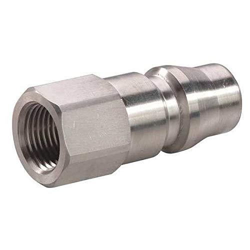 Coupler Plug (F) NPT 1/4 304 SS
