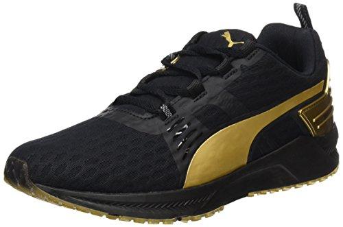 Puma Ignite XT v2 Gold Wns, Scarpe da Corsa Donna Nero (Schwarz (Puma Black-gold 02))