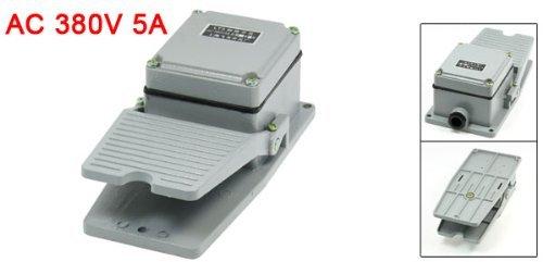 eDealMax AC 380V 5 Amp No NC Antislip momentáneo CNC de Pedal interruptor de Pedal: Amazon.com: Industrial & Scientific