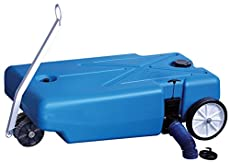 "TOTE-ALONG 4-WHEELERS - The ""tow on the ground"" 4-Wheelers are equipped with standard 3 Inch valves to eliminate lifting to ""dump"" tanks. 4-Wheelers are available in 16, 25, 32 and 42 Gallon sizes for compatibility with any size RV. Constructed of bl..."