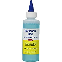 Zoetis Nolvasan Otic Cleansing Solution, 4-Ounce
