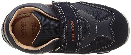 Geox B Balu' Boy D - Zapatillas de Piel para niño Dk Navy