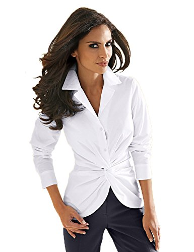 Kaigenina Women's Sleeves Button Down Shirt with Stretch