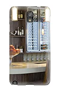 Adam L. Nguyen's Shop New Style 1105790K85602806 For Galaxy Note 3 Fashion Design Home Wine Bar With Mounted Wine Cooler Case