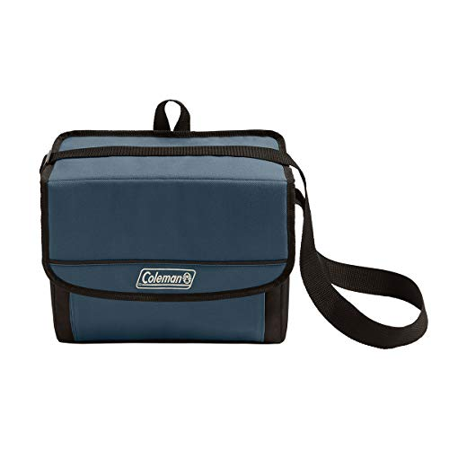 Coleman 18-Can Collapsible Cooler with 20-Hour Ice Retention | Soft-Sided Cooler Bag Folds Flat for Compact Storage, Slate