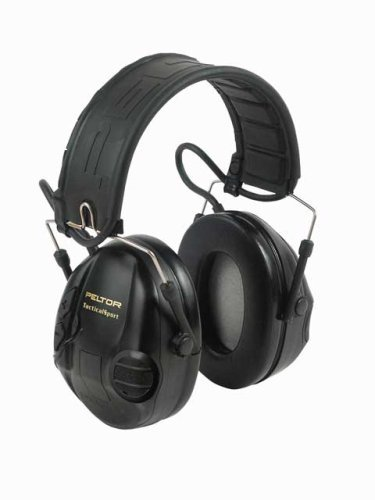 Peltor MT16H210F-479-SV Tactical Sport Headset black 1/Case by Peltor