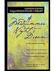 A Midsummer Night's Dream (Folger Shakespeare Library, Fiction, Drama, Romance)