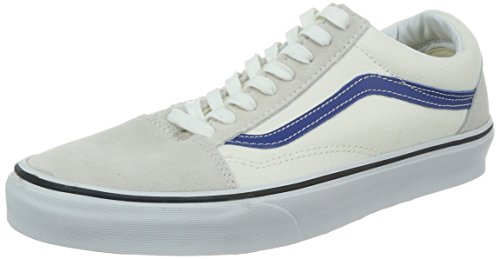 Vans U OLD SKOOL (2 TONE) NAVY/C - Zapatillas de cuero unisex White