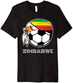 [Featured] Zimbabwe Soccer Jersey | 2019 Fans Kit Football Warriors Premium in ALL styles | Size S - 5XL