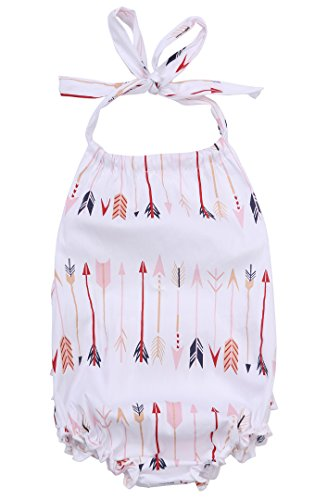 Cute Baby Infant Girls Arrows One Piece Clothes Romper Jumpsuit Sets Outfits (12-18 Months, Arrows)