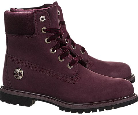 Pictures of Timberland Womens Velvet-Accent Premium Waterproof Boot A1KC1 5